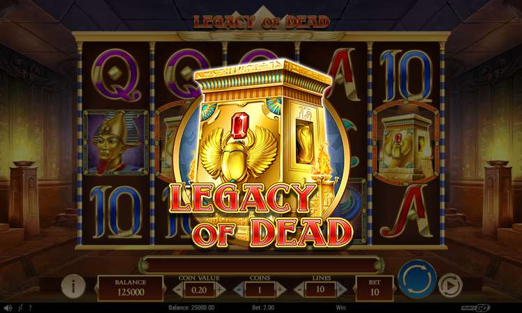 Preview into legacy of dead slot game